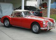 1961 MG MGA Deluxe